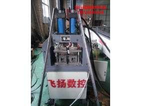 飞扬数控主打精品全自动多功能QZDCK-SB006型管材、角铁扁铁、槽钢槽铝等多种型材一体冲孔机